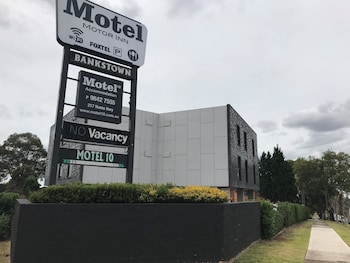 Exterior detail at Bankstown Motel 10 in Chullora
