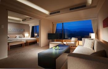 マウンテンビュースイート 禁煙 ベッド2台 56㎡|鳥羽国際ホテル