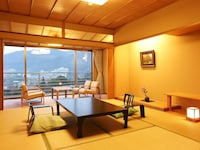 Japanese-style room ,Center Building, Special Kaiseki with Kobe Beef, Sushi, and Tempura
