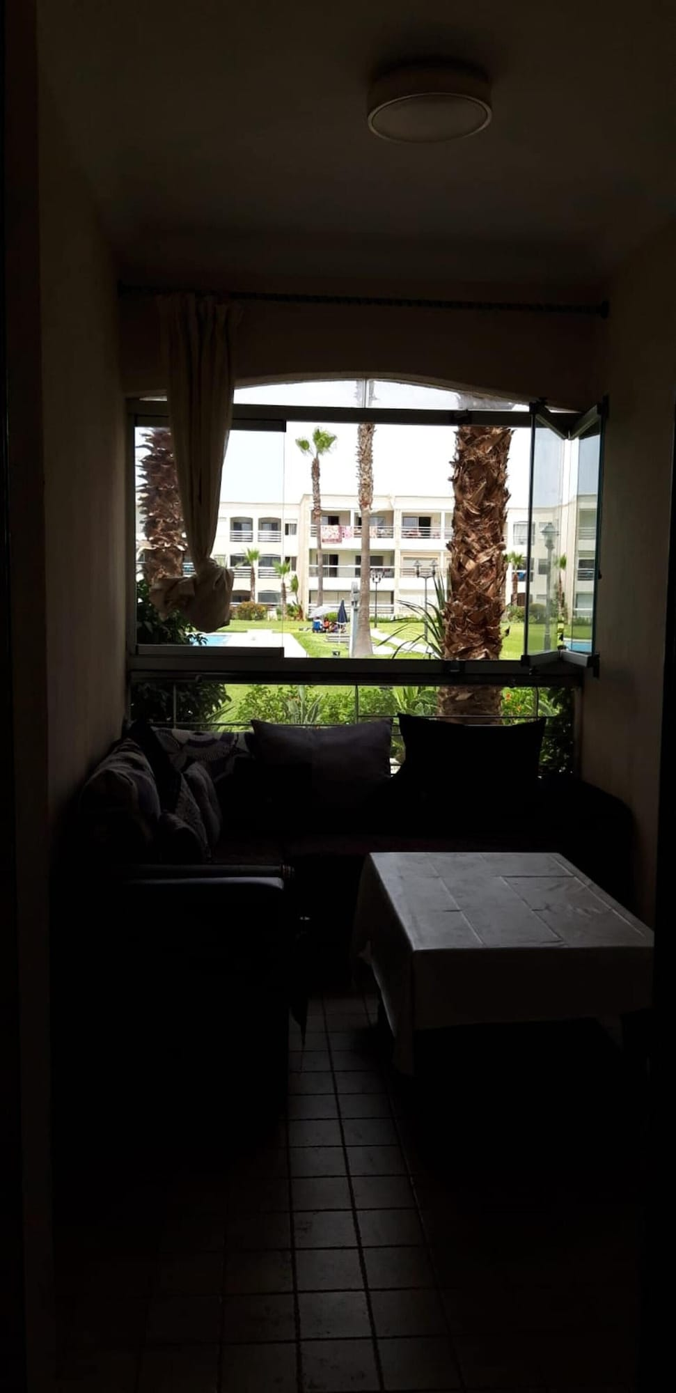 Apartment With one Bedroom in El Jadida, With Pool Access, Enclosed Garden and Wifi - 10 m From the Beach, Settat