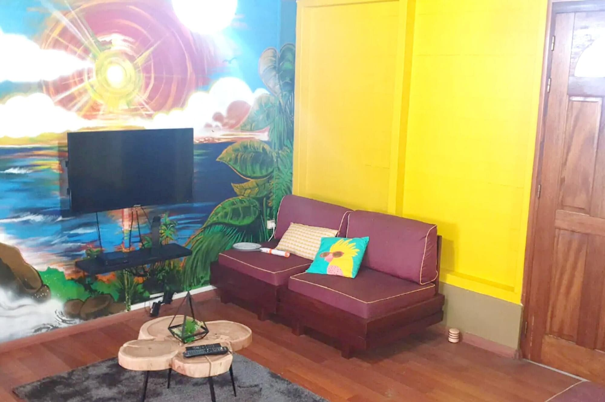 Apartment With 2 Bedrooms in Fort-de-france, With Enclosed Garden and Wifi - 10 km From the Beach, Fort-de-France
