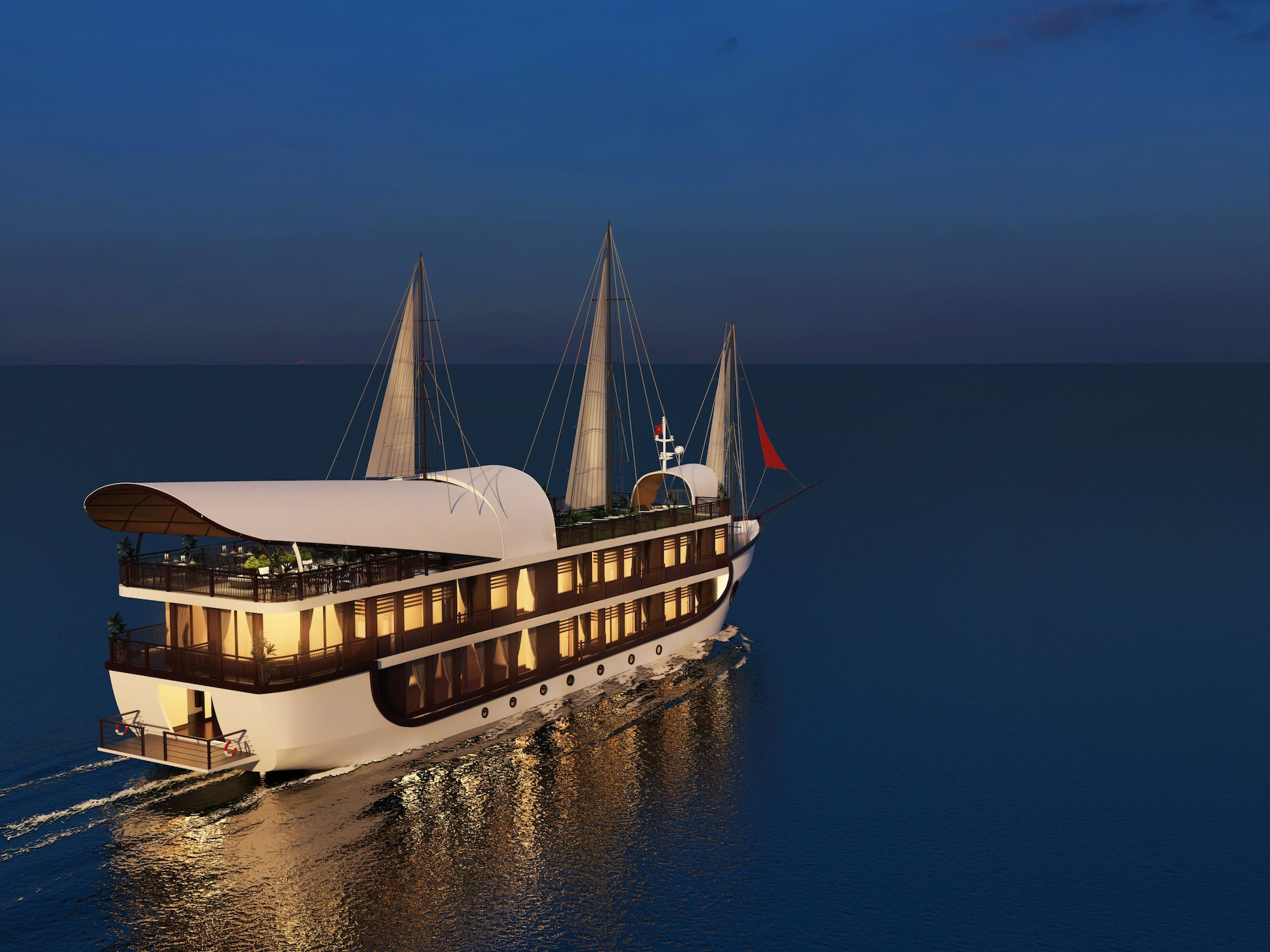 Sena Cruises Wonder On Lan Ha Bay, Hạ Long