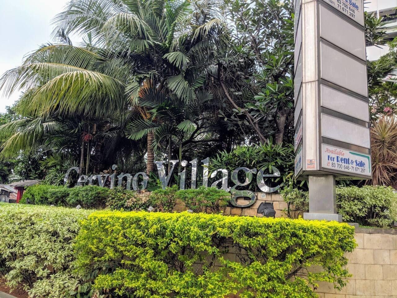 Homey 1BR at Cervino Village Apartment, Jakarta Selatan