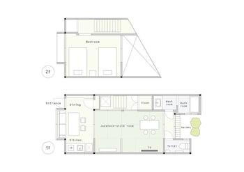 KYOMACHIYA-SUITE RIKYU Floor plan