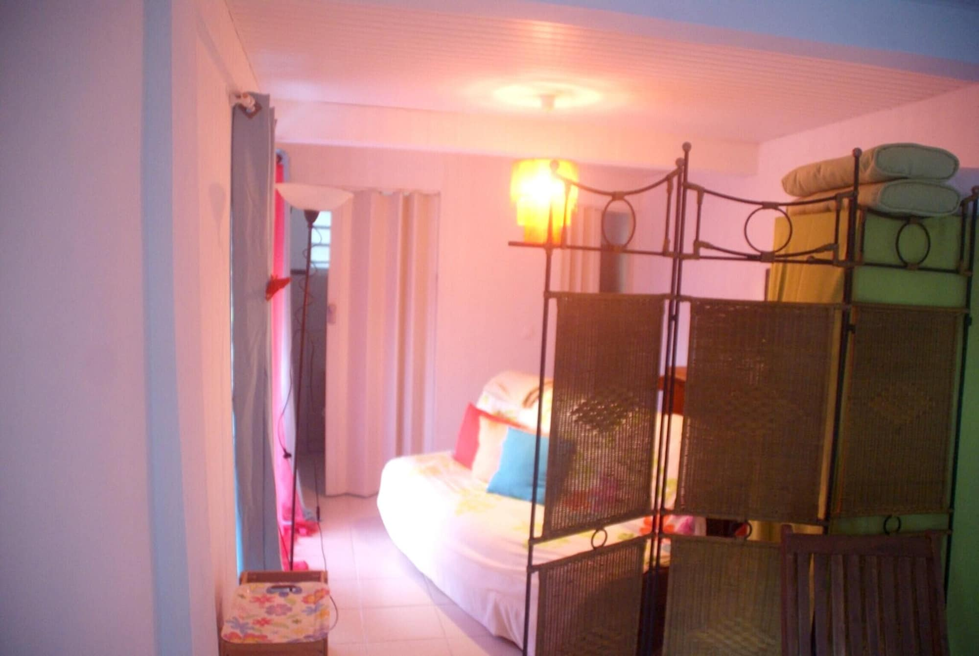 Studio in Fort-de-france, With Wonderful sea View, Furnished Terrace and Wifi - 8 km From the Beach, Fort-de-France