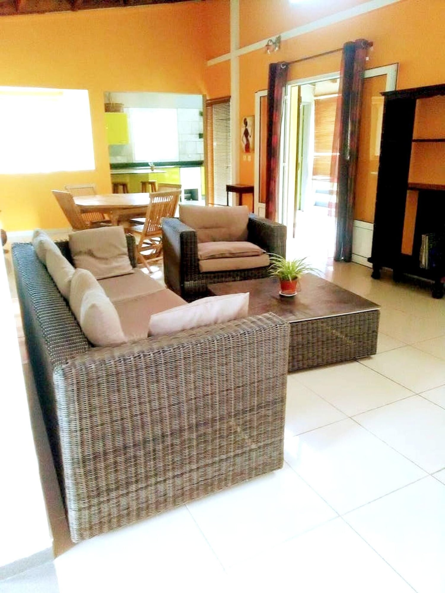 Apartment With 2 Bedrooms in Sainte Rose, With Furnished Terrace and Wifi - 5 km From the Beach, Sainte-Rose