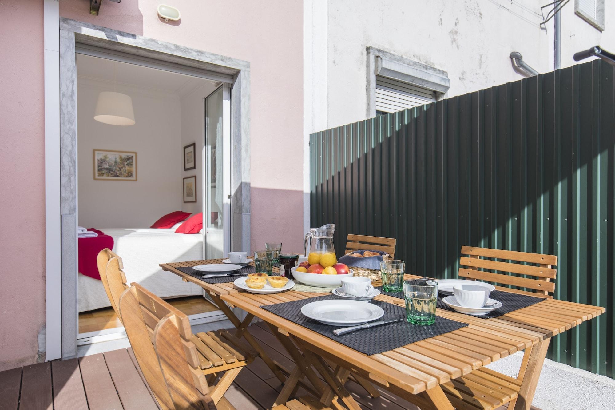 Garden House in Alvalade, Lisboa