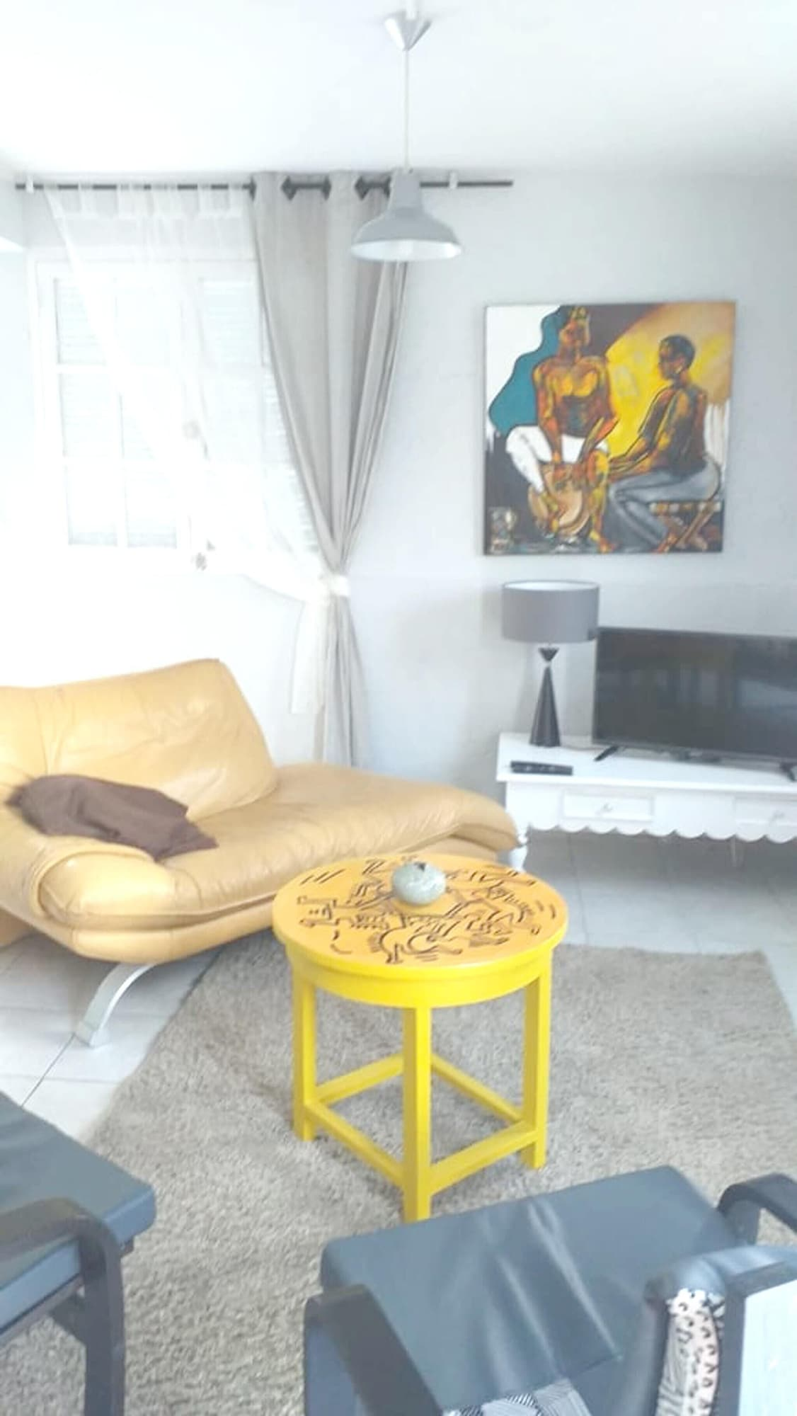 Apartment With one Bedroom in Fort-de-france, With Wonderful Mountain View, Furnished Terrace and Wifi - 5 km From the Beach, Fort-de-France
