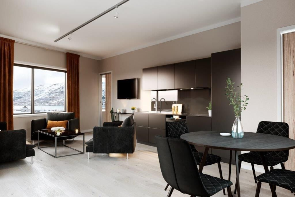 Luxury downtown apartments ap 401, Tromsø