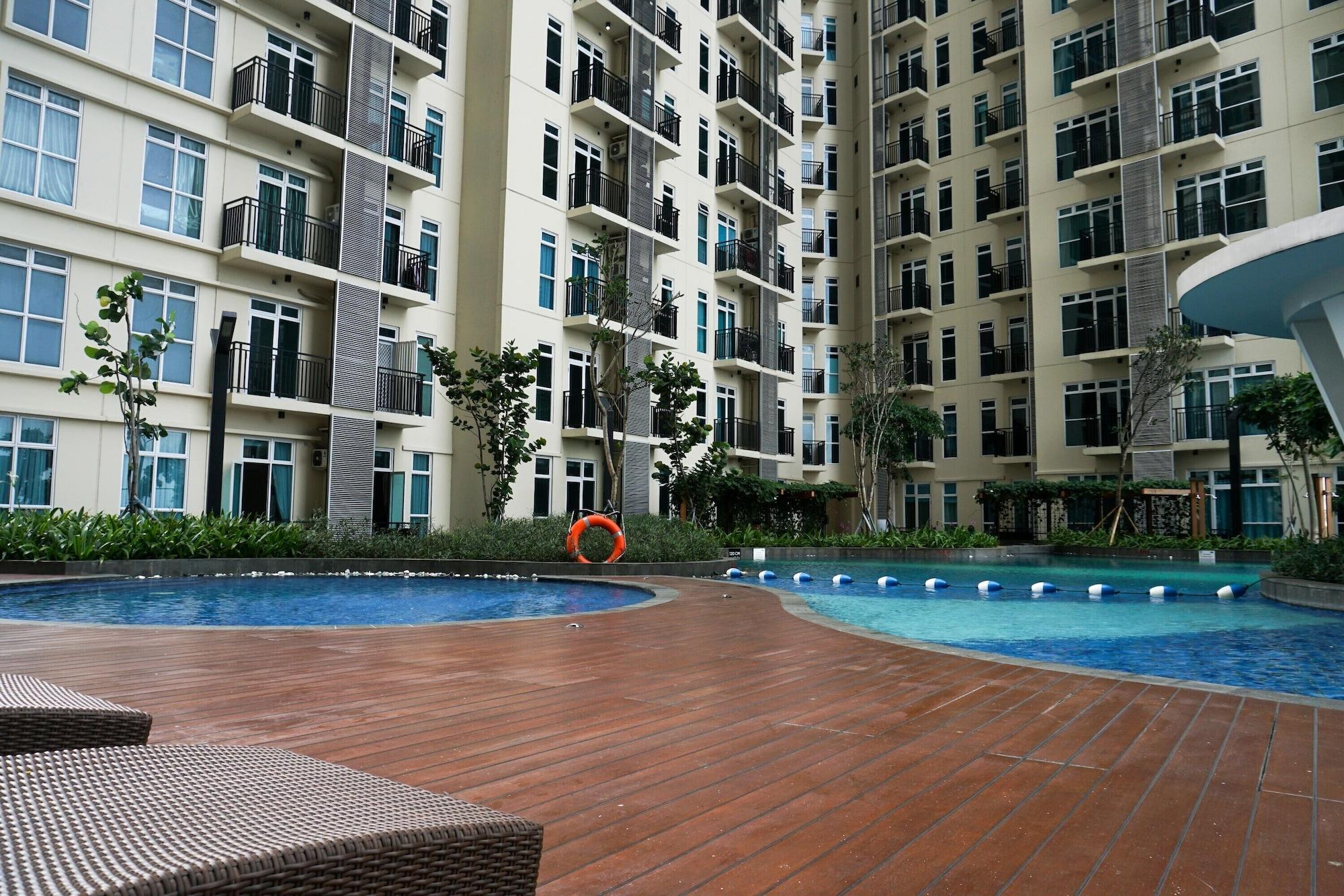 New Furnished 1BR Puri Orchard Apartment, Jakarta Barat