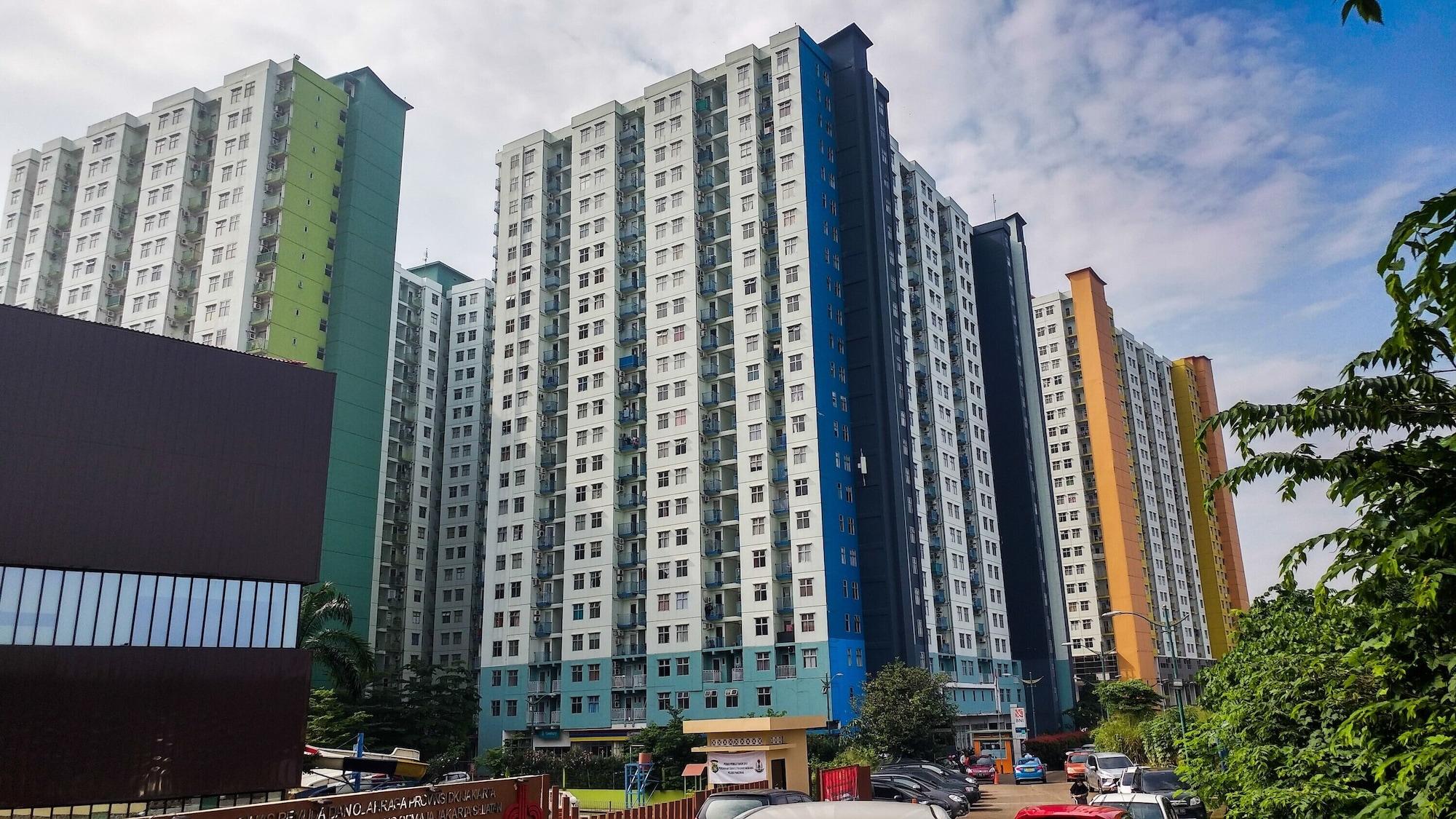 New Furnished Studio Apartment at Springwood Residence, Tangerang