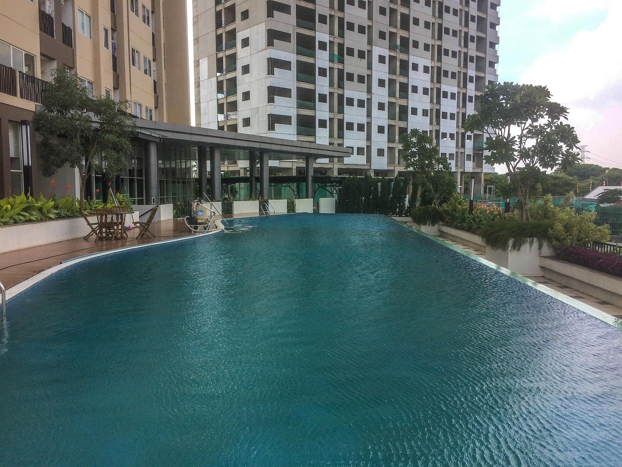 1BR with Working Space The Oasis Apartment Cikarang, Cikarang