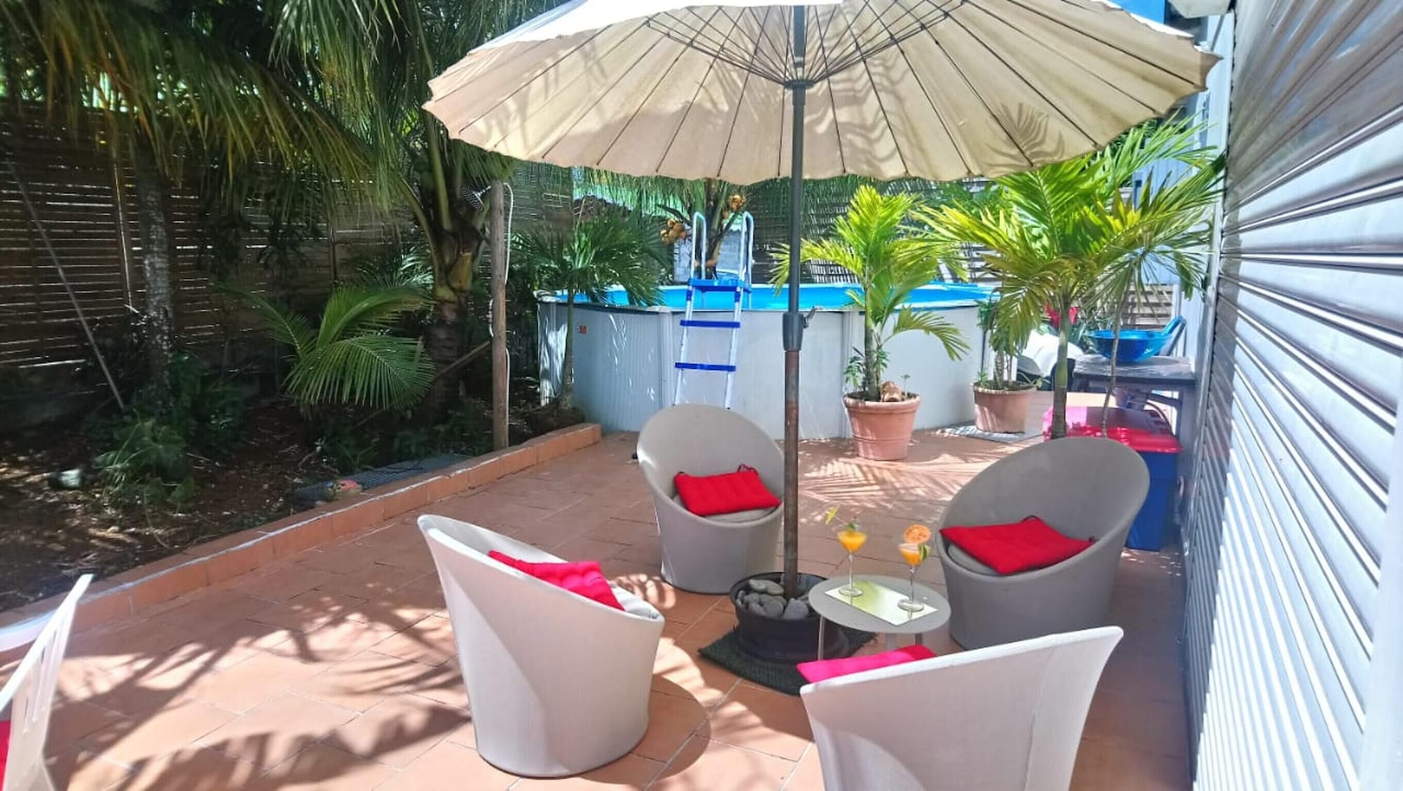 Bungalow With one Bedroom in Sainte-rose, With Private Pool, Enclosed Garden and Wifi - 4 km From the Beach, Sainte-Rose