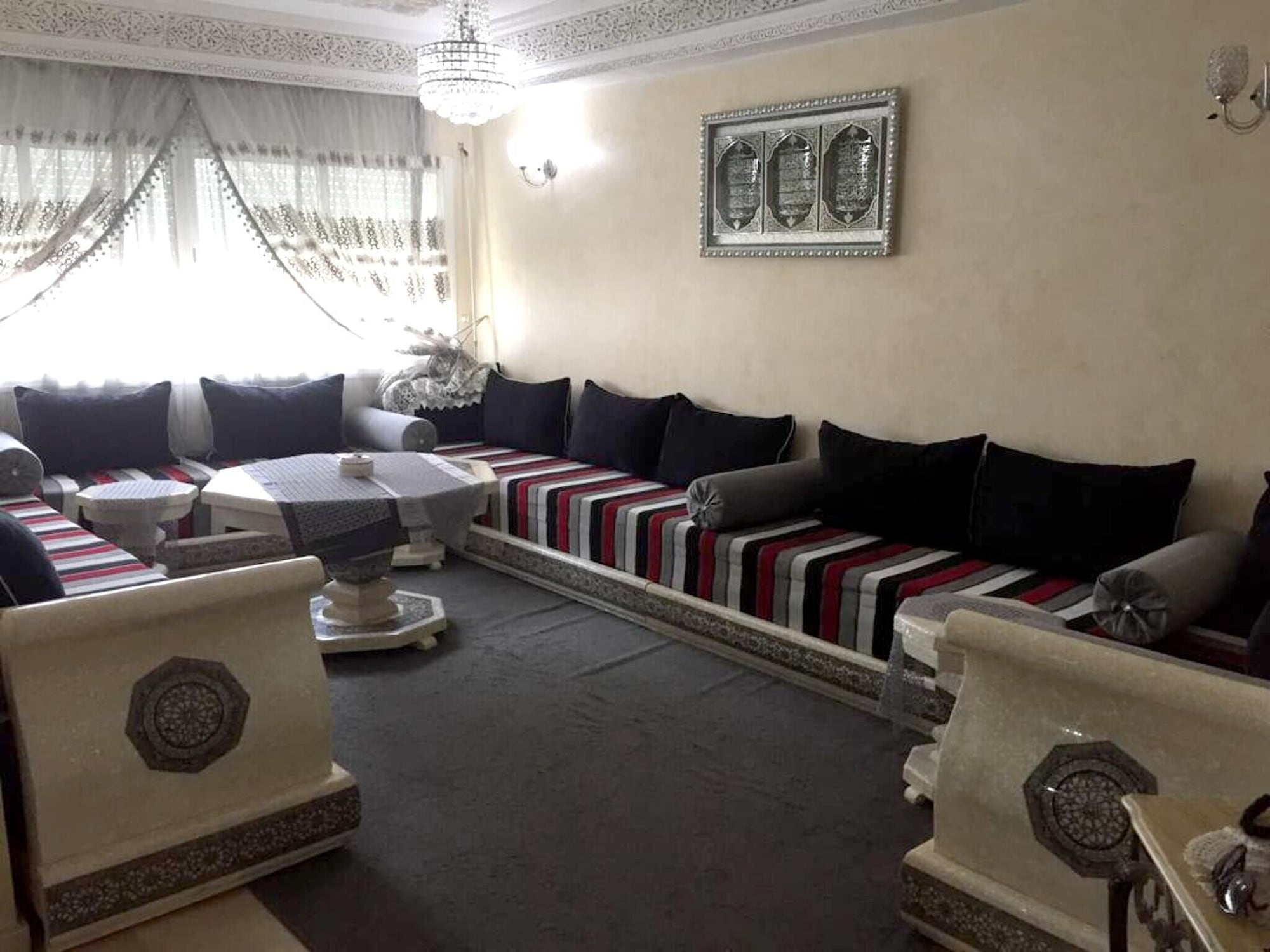 Apartment With 2 Bedrooms in Mohammédia, With Wifi - 1 km From the Beach, Mohammedia