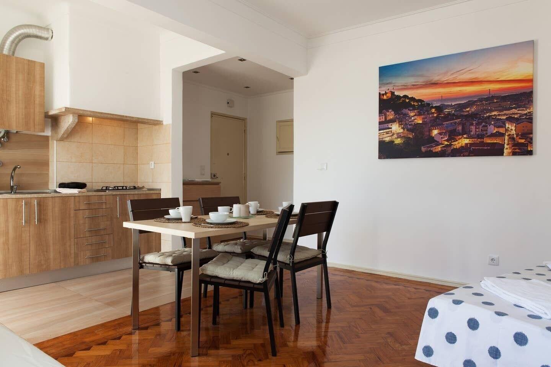Graça Views for six Apartment Rentexperience, Lisboa