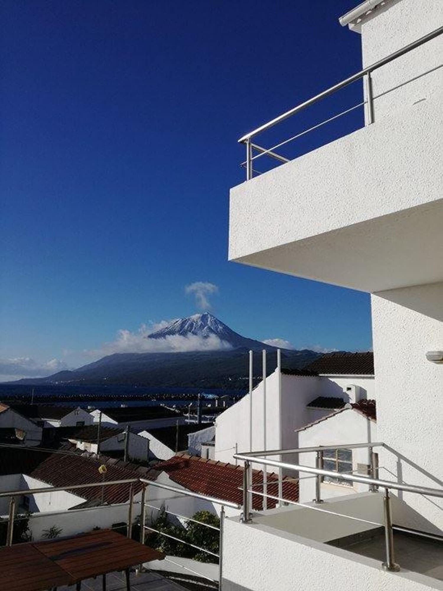 Apartment With one Bedroom in Lajes Do Pico, With Wonderful sea View, Terrace and Wifi, Lajes do Pico
