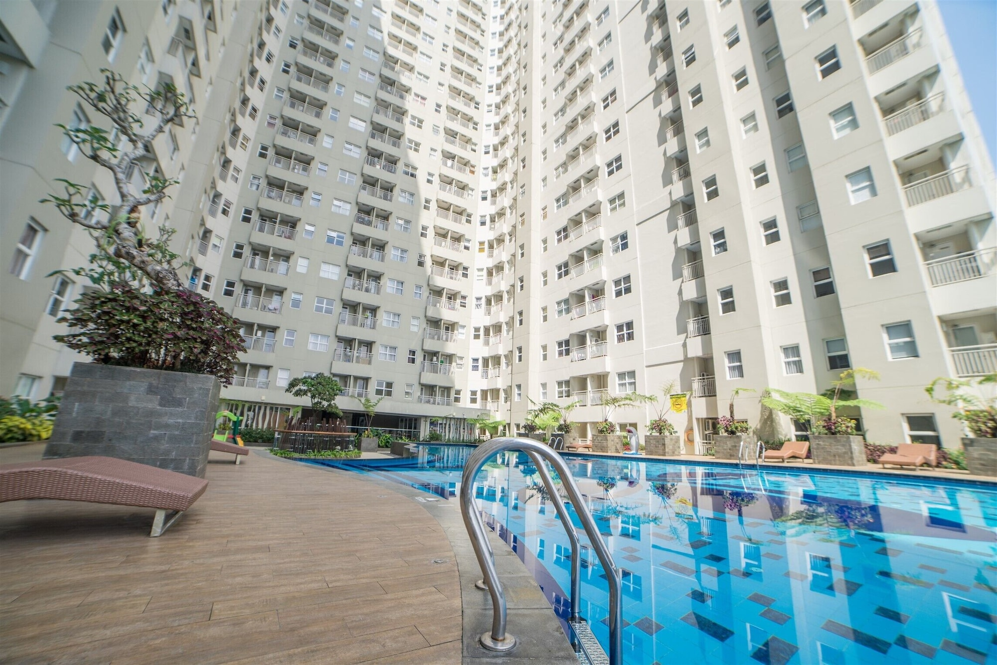 Quiet 2BR Apartment @ Parahyangan Residence Apartement with Mountain View By Travelio, Bandung