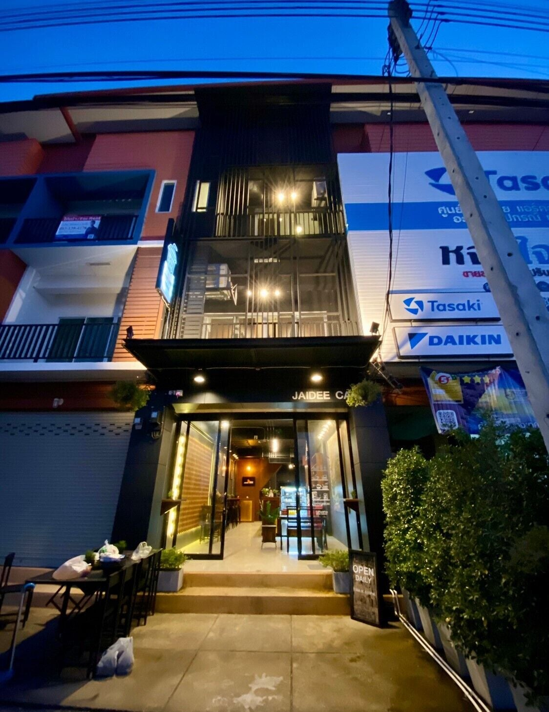 Jaidee Cafe & Hostel Chiangrai, Muang Chiang Rai