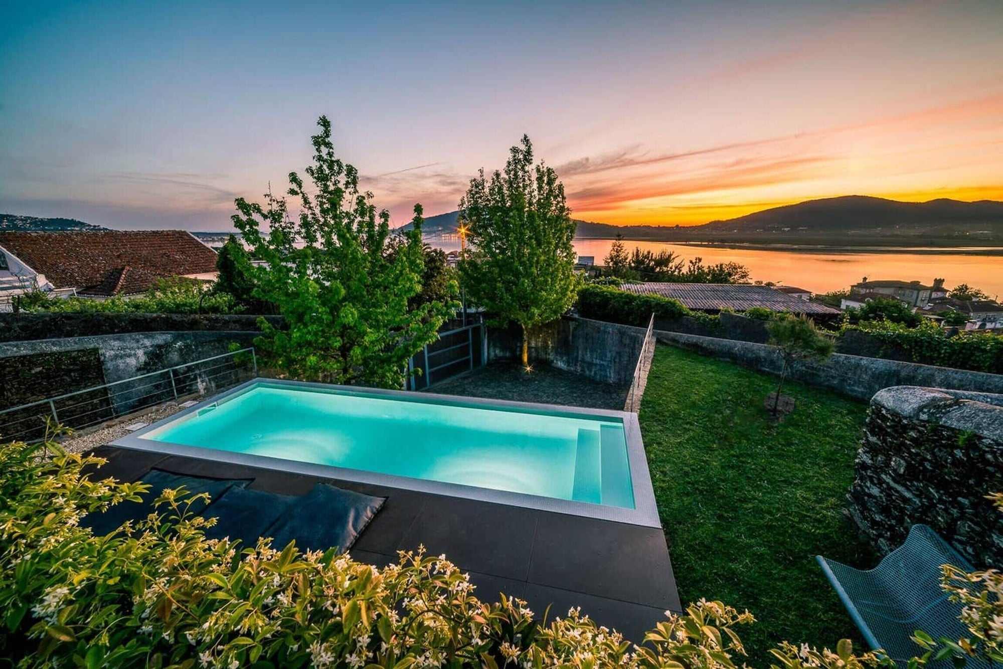Villa With 2 Bedrooms in Seixas, With Wonderful sea View, Private Pool, Enclosed Garden - 8 km From the Beach, Caminha