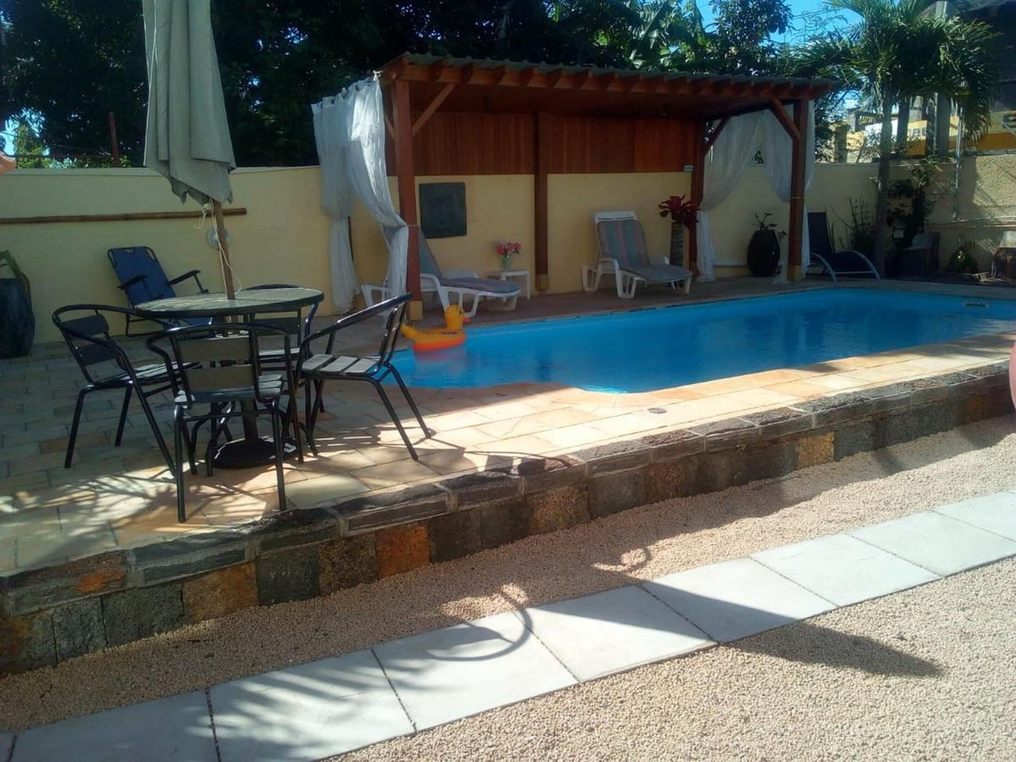 Villa With 3 Bedrooms in Pointe aux Piments, With Wonderful Mountain View, Private Pool, Furnished Terrace,