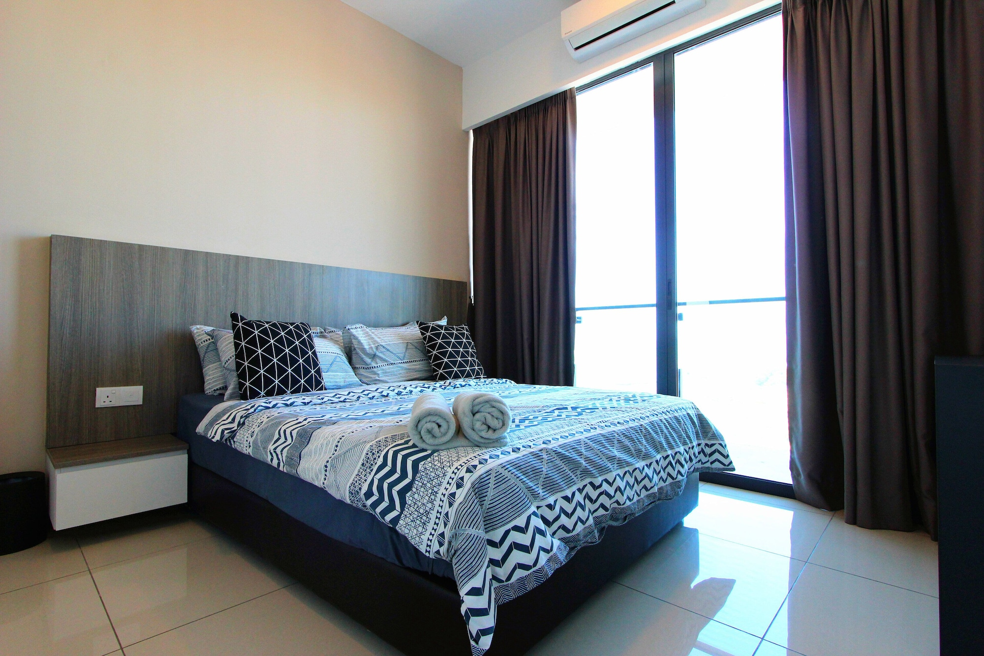 D'wharf Residence @ PD Waterfront Family Twin Suite by AirPlan, Port Dickson
