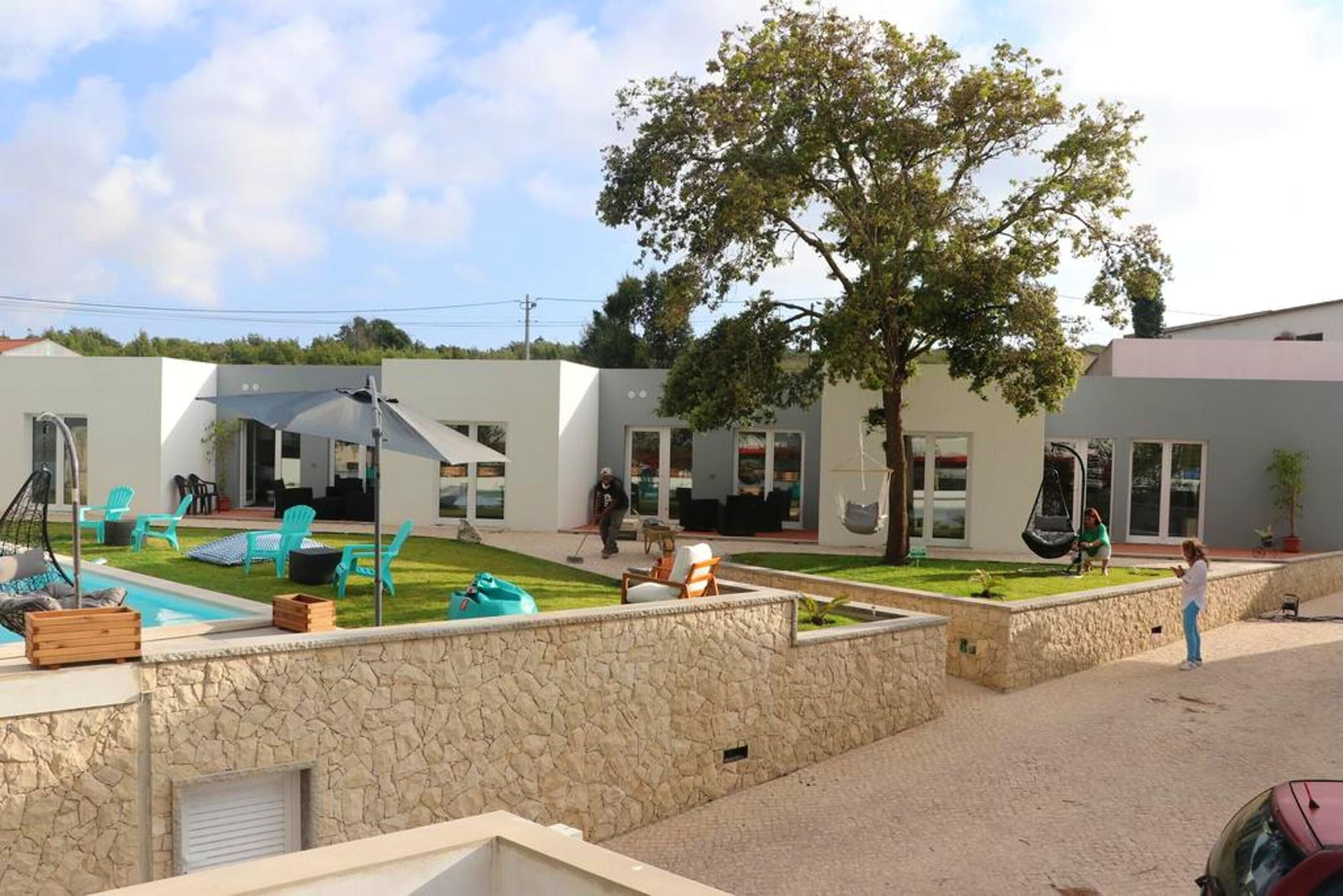 Studio in Atalaia, With Shared Pool, Enclosed Garden and Wifi - 3 km From the Beach, Lourinhã