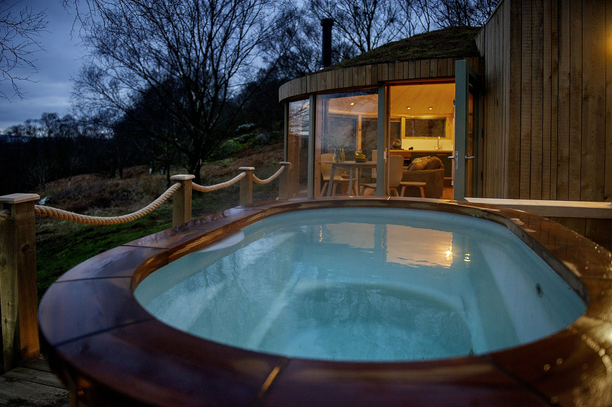 Roundhouse and Hot Tub, East Dunbartonshire