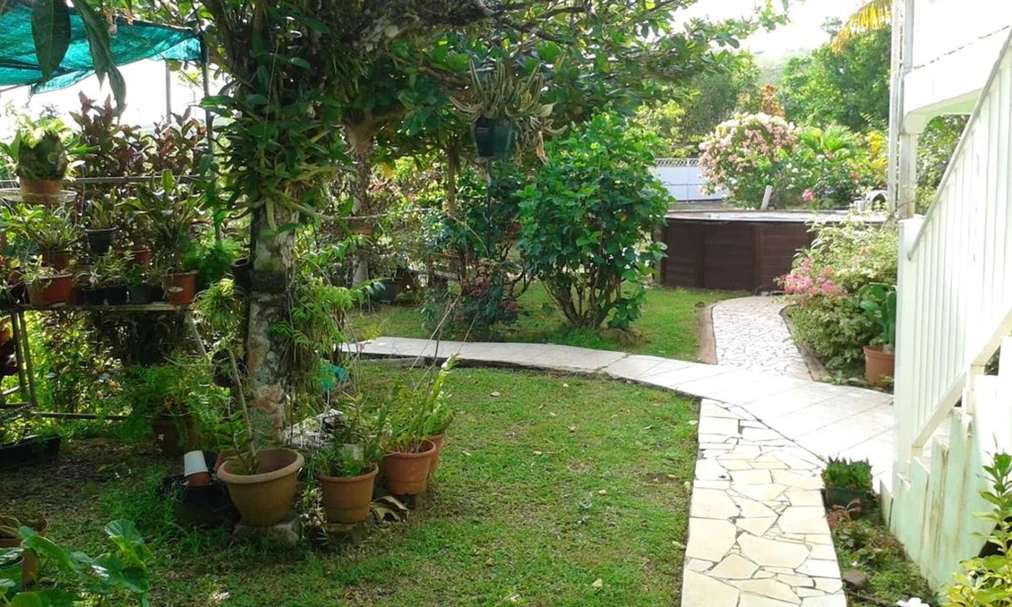 Apartment With 3 Bedrooms in La Trinité, With Shared Pool, Enclosed Garden and Wifi - 1 km From the Beach, La Trinité