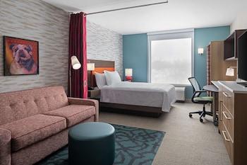 狄蒙因德雷克大學希爾頓惠庭飯店 Home2 Suites by Hilton Des Moines at Drake University