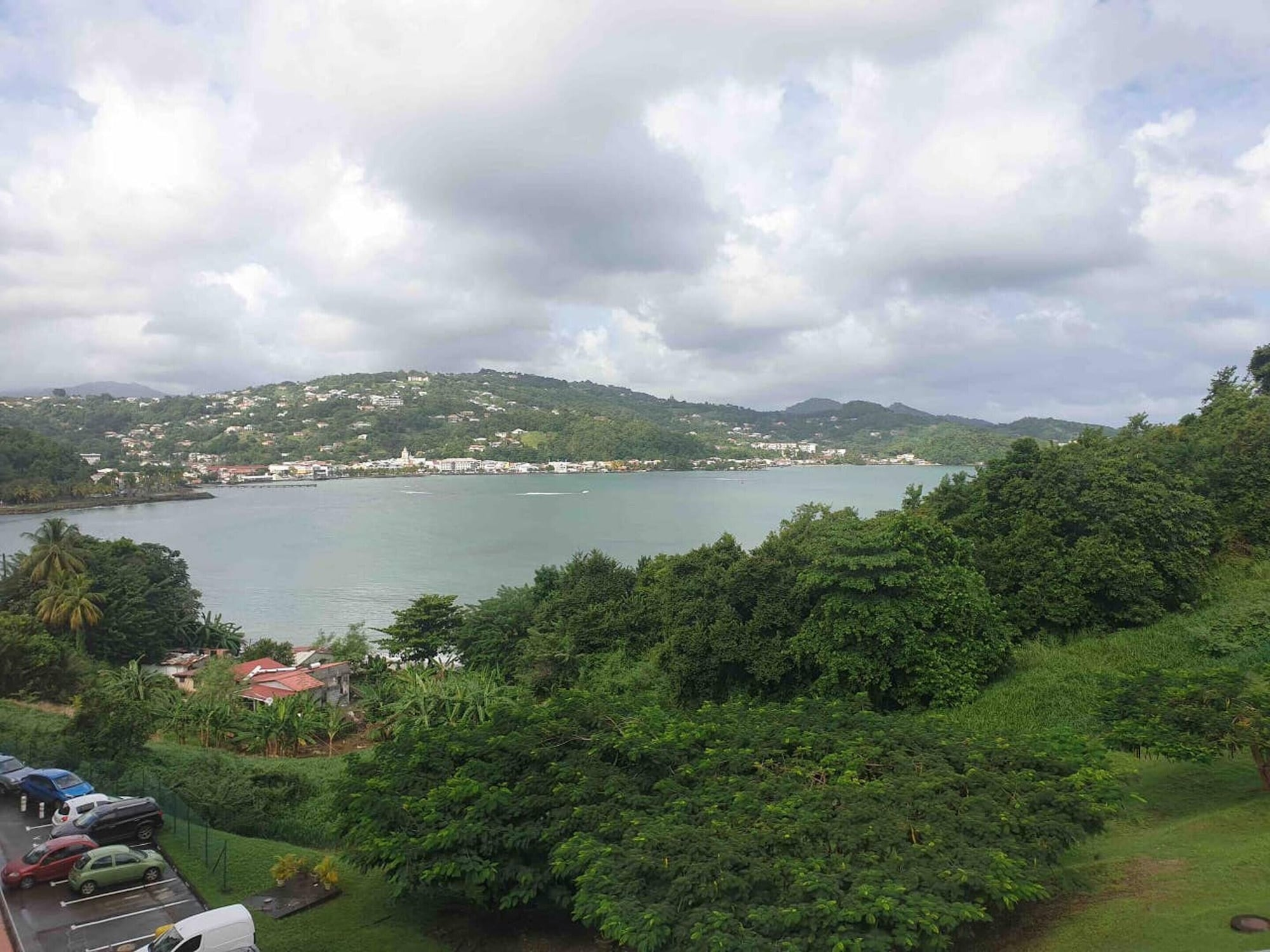 Studio in La Trinité, With Wonderful sea View, Furnished Garden and Wifi, La Trinité