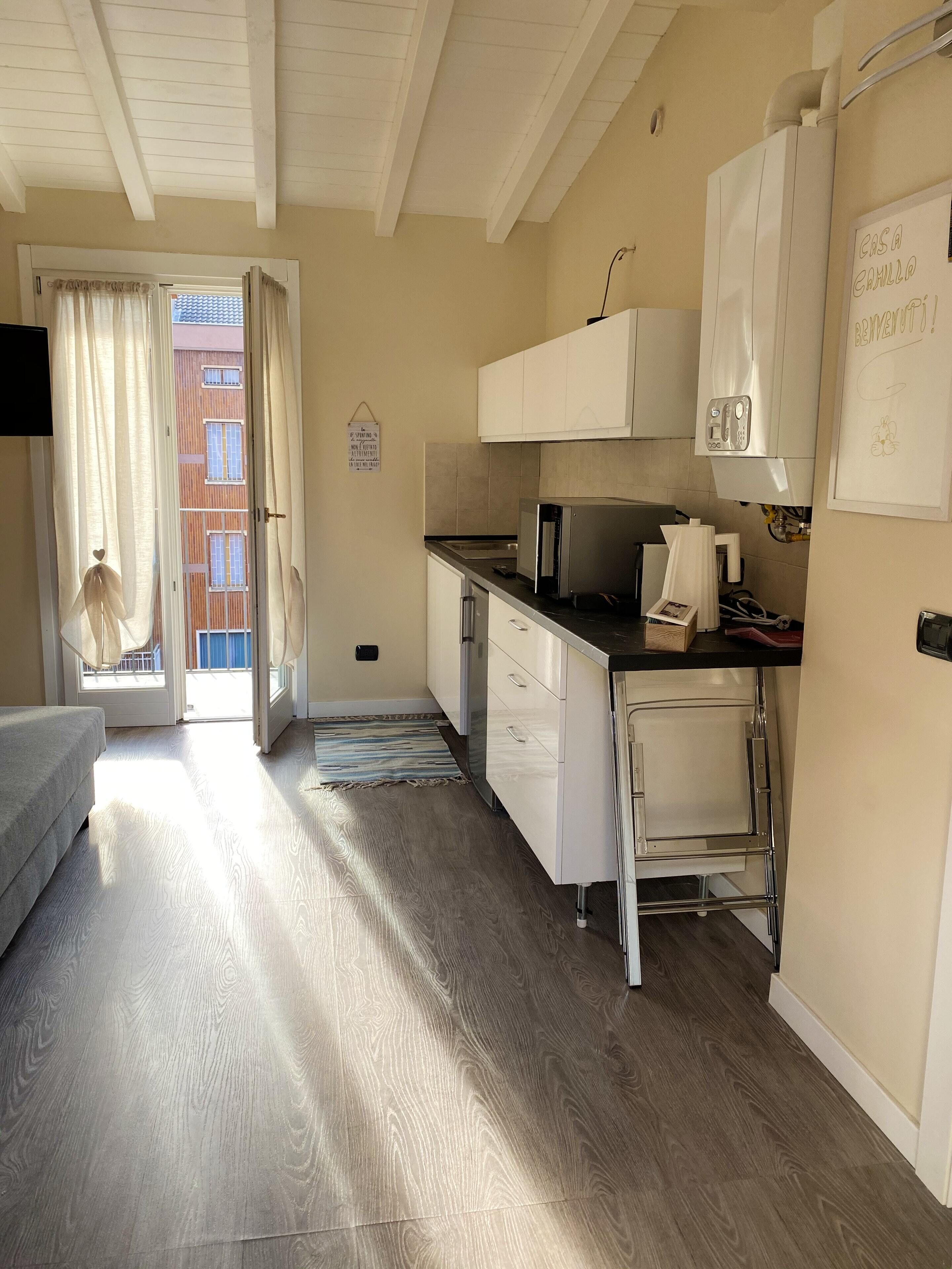 Apartment With One Bedroom In Milano With Wonderful City View Balcony And Wifi