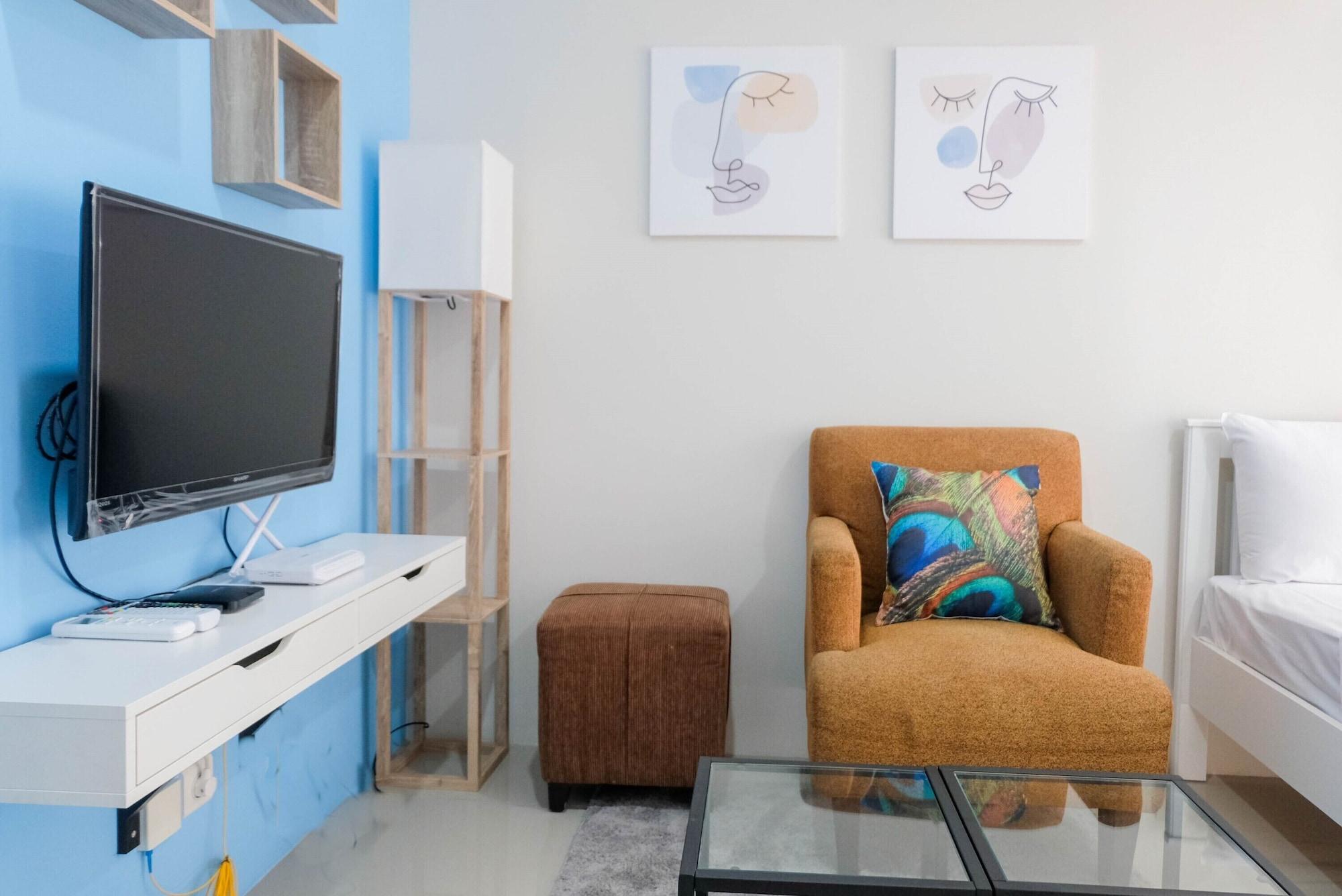 Stylish and Convenient Studio Bintaro Plaza Apartment, Tangerang Selatan