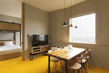 HUNDRED STAY TOKYO SHINJUKU Living Area