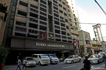 Riviera Mansion Hotel Manila Front of Property
