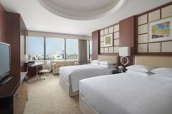 Room, 2 Double Beds, Non Smoking, View (Skyline Room, High Floor)