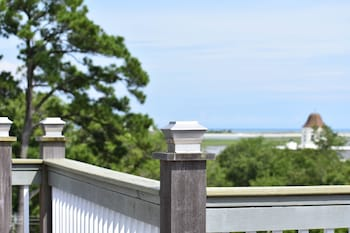 Balcony View at The Inlet Sports Lodge in Murrells Inlet