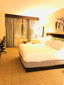 Premium Room, 1 King Bed, Accessible, View (Hearing)