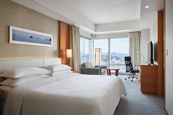 デラックス ルーム キングベッド 1 台 禁煙 シティビュー シェラトングランドホテル広島