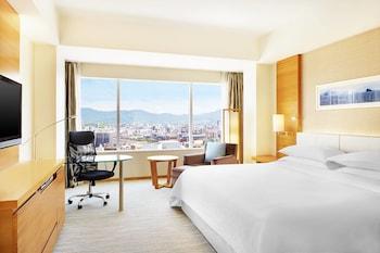 デラックス ルーム キングベッド 1 台 シティビュー|35㎡|シェラトングランドホテル広島