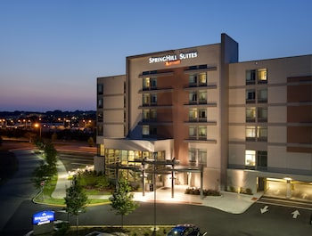 Hotel Front - Evening/Night at Springhill Suites by Marriott Alexandria Old Town/Southwest in Alexandria