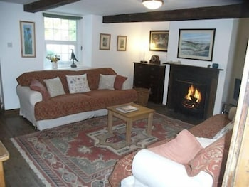 월리스 레인 팜 - 팜 하우스(Wallace Lane Farm - Farm Home) Hotel Image 7 - Fireplace
