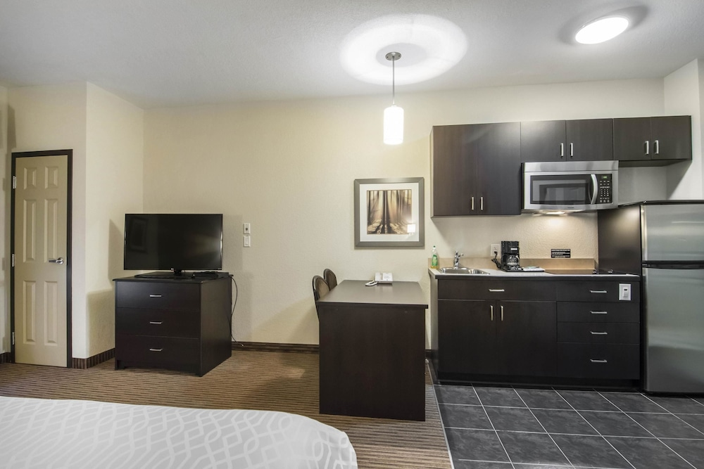 서버번 익스텐디드 스테이 호텔(Quality Inn & Suites Thompson) Hotel Image 22 - In-Room Kitchenette