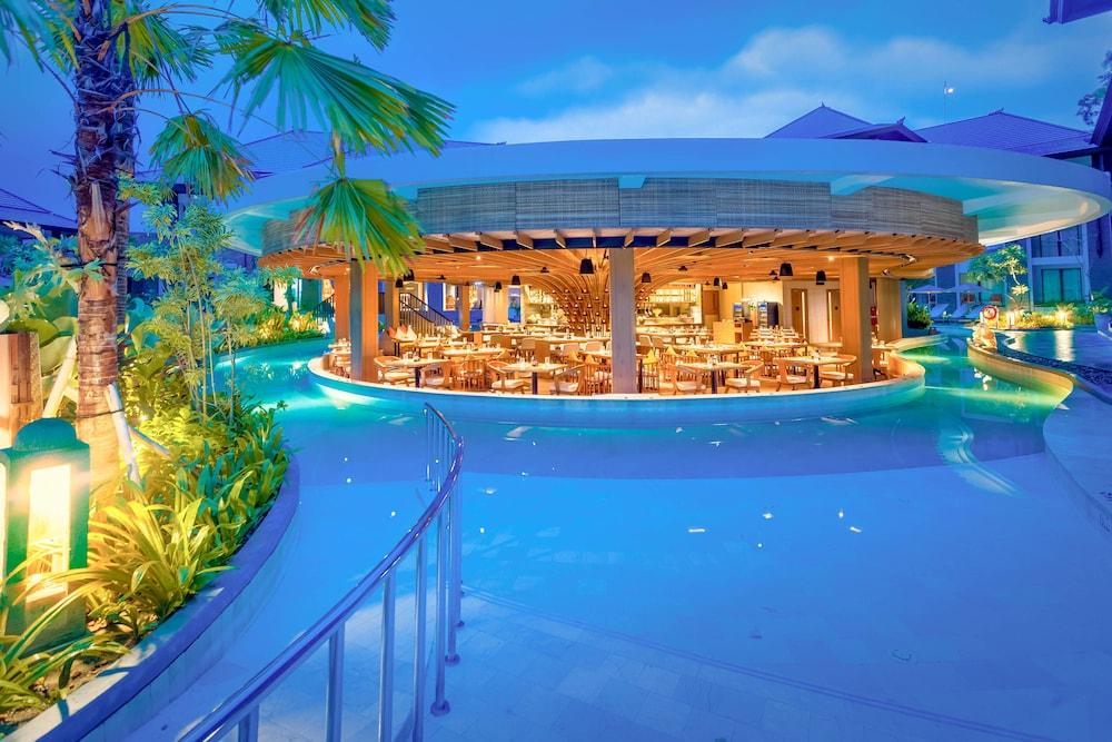 코트야드 바이 메리어트 발리 누사 두아 리조트(Courtyard by Marriott Bali Nusa Dua Resort) Hotel Image 49 - Restaurant