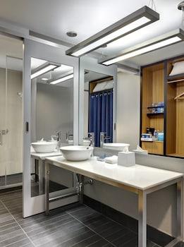 Bathroom at Aloft New York Brooklyn in Brooklyn