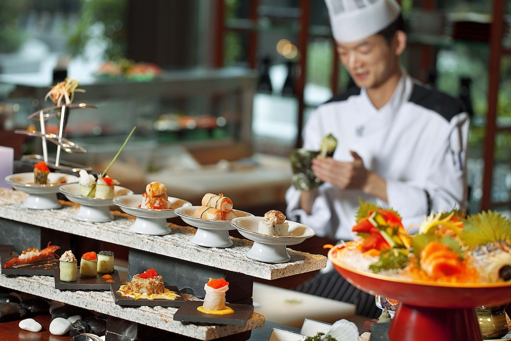 인터컨티넨탈 우시(Intercontinental Wuxi) Hotel Image 21 - Restaurant