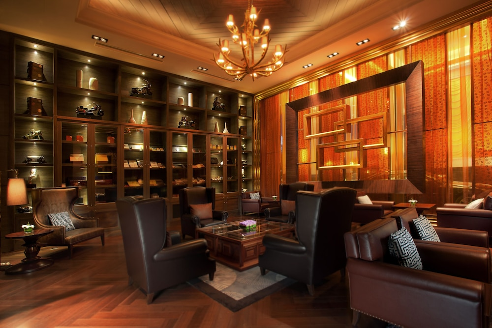 인터컨티넨탈 우시(Intercontinental Wuxi) Hotel Image 32 - Hotel Bar