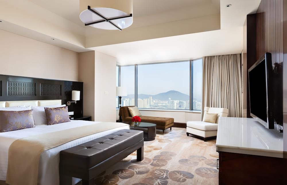 인터컨티넨탈 우시(Intercontinental Wuxi) Hotel Image 8 - Guestroom