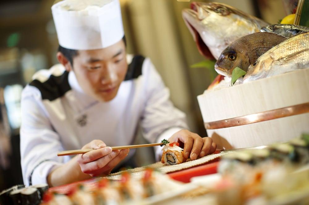인터컨티넨탈 우시(Intercontinental Wuxi) Hotel Image 25 - Restaurant