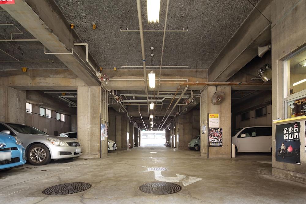 오카야마 뷰 호텔(Okayama View Hotel) Hotel Image 49 - Parking