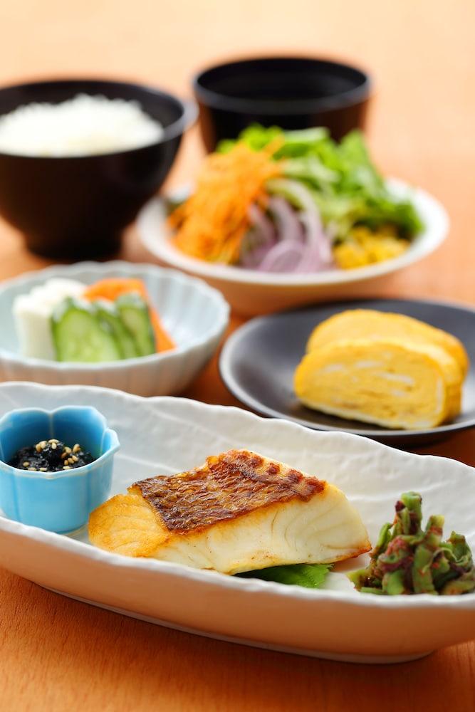 오카야마 뷰 호텔(Okayama View Hotel) Hotel Image 37 - Food and Drink